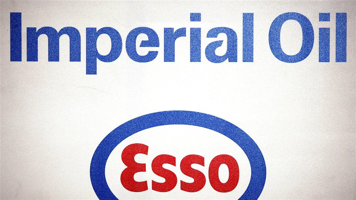 Logo de la pétrolière L'Impériale, qui exploite l'enseigne Esso.
