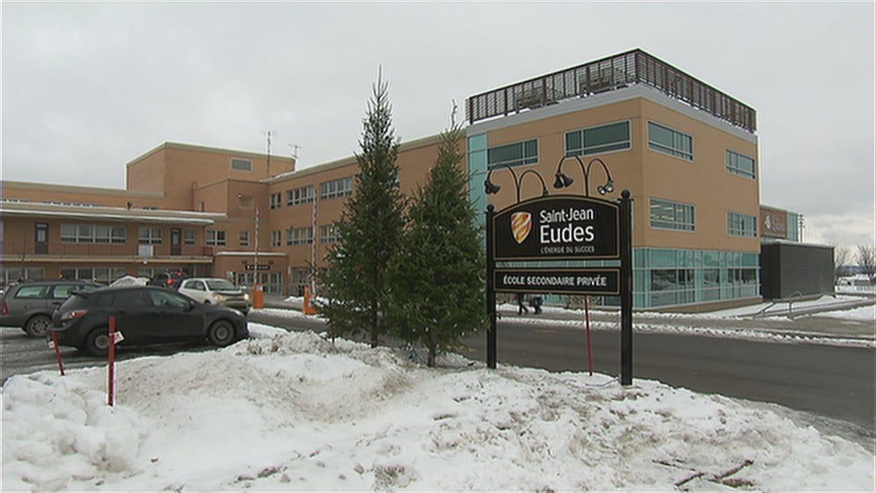 L'école secondaire privée Saint-Jean-Eudes à Québec.