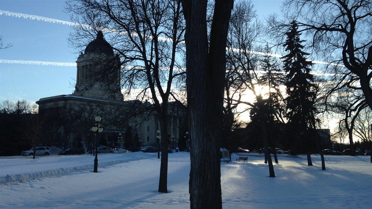 La palais législatif du Manitoba