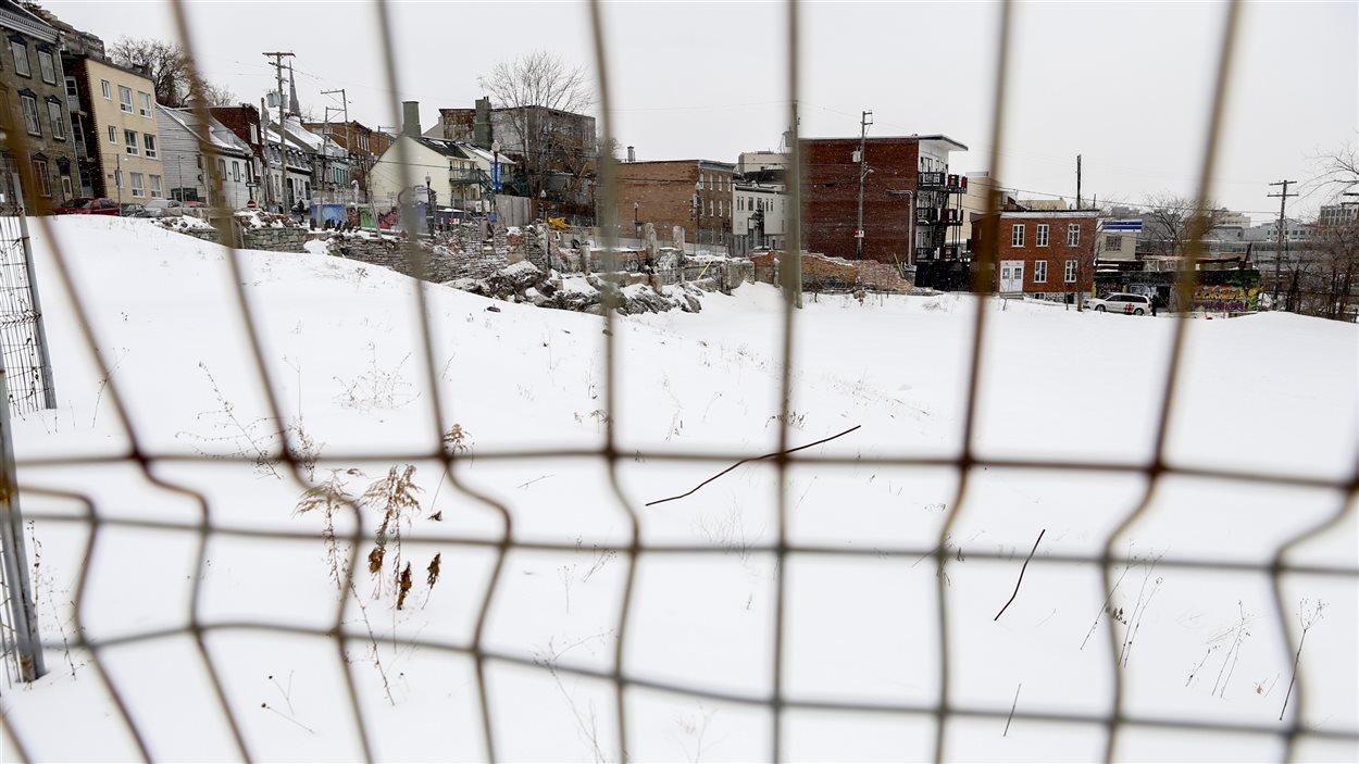 Terrain vacant dans le centre-ville de Québec