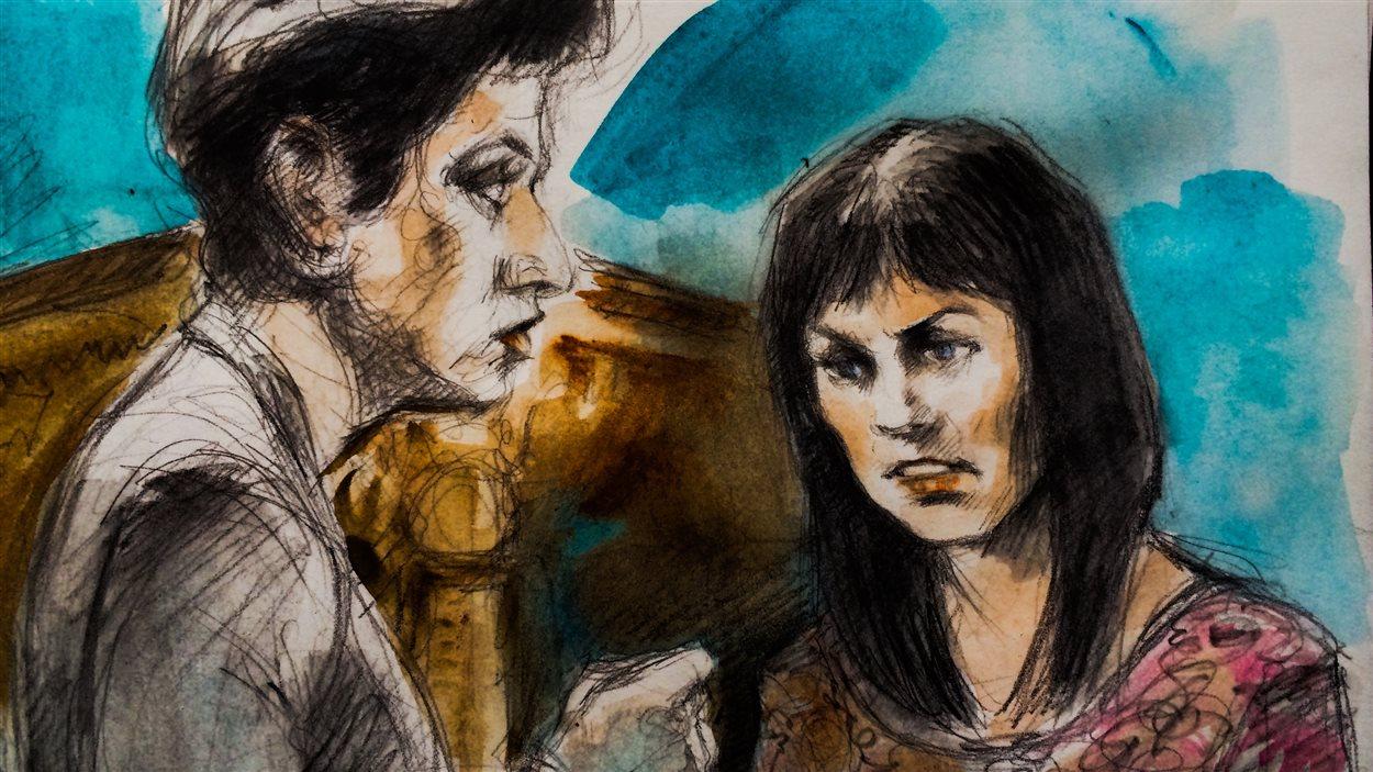 L'avocate de la défense Marie Henein a tenté de démontrer que Lucy DeCoutere était amoureuse de Jian Ghomeshi.
