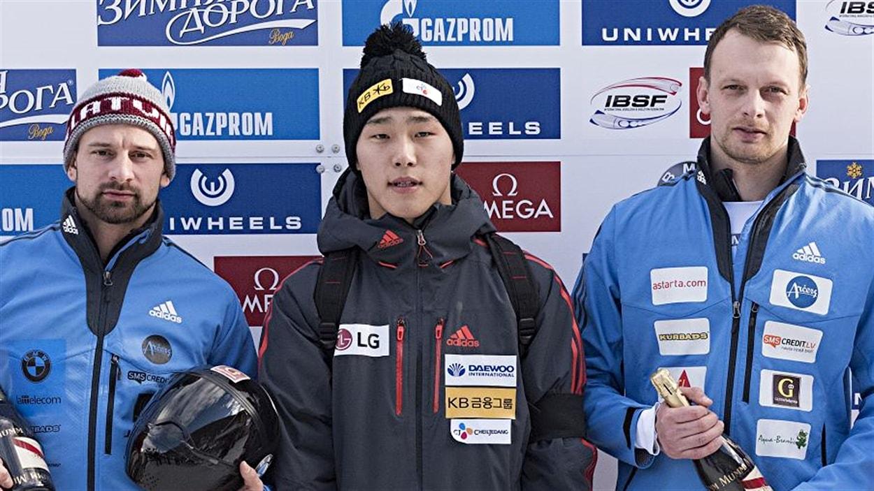 Yun Sung-bin à St-Moritz