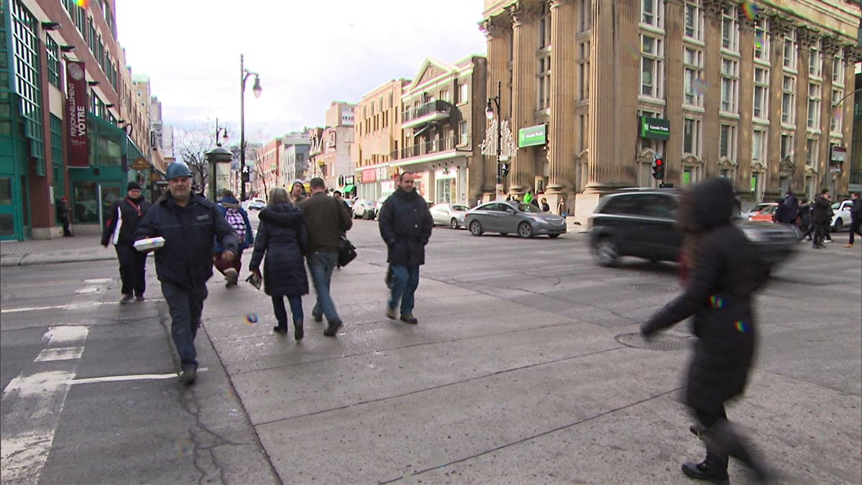 Plusieurs accidents ont eu lieu à l'intersection des rues Guy et Sainte-Catherine entre 2011 et 2014.