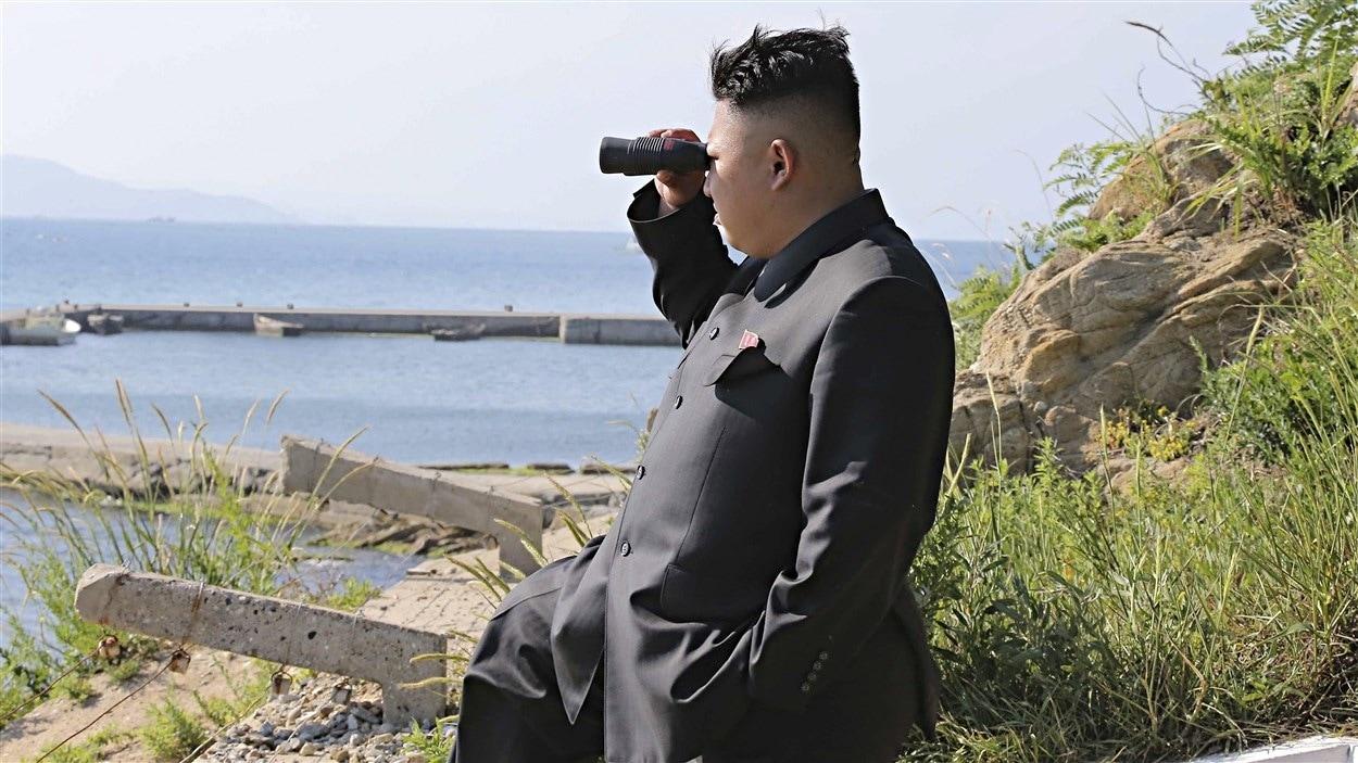 Kim Jong-un, le dirigeant de la Corée du Nord