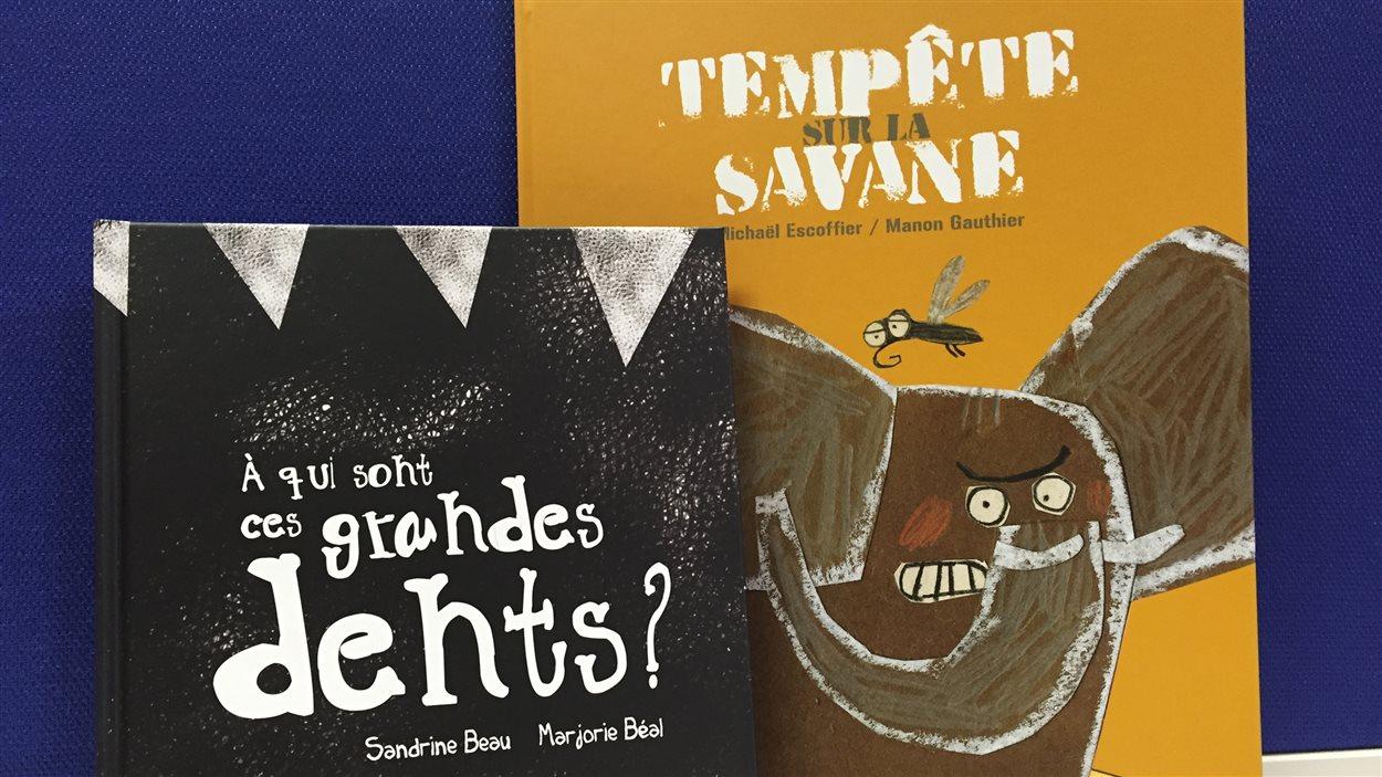Les deux premiers titres arrivent sur les tablettes dès le 16 février : «À qui sont ces grandes dents?» et «Tempête sur la savane»