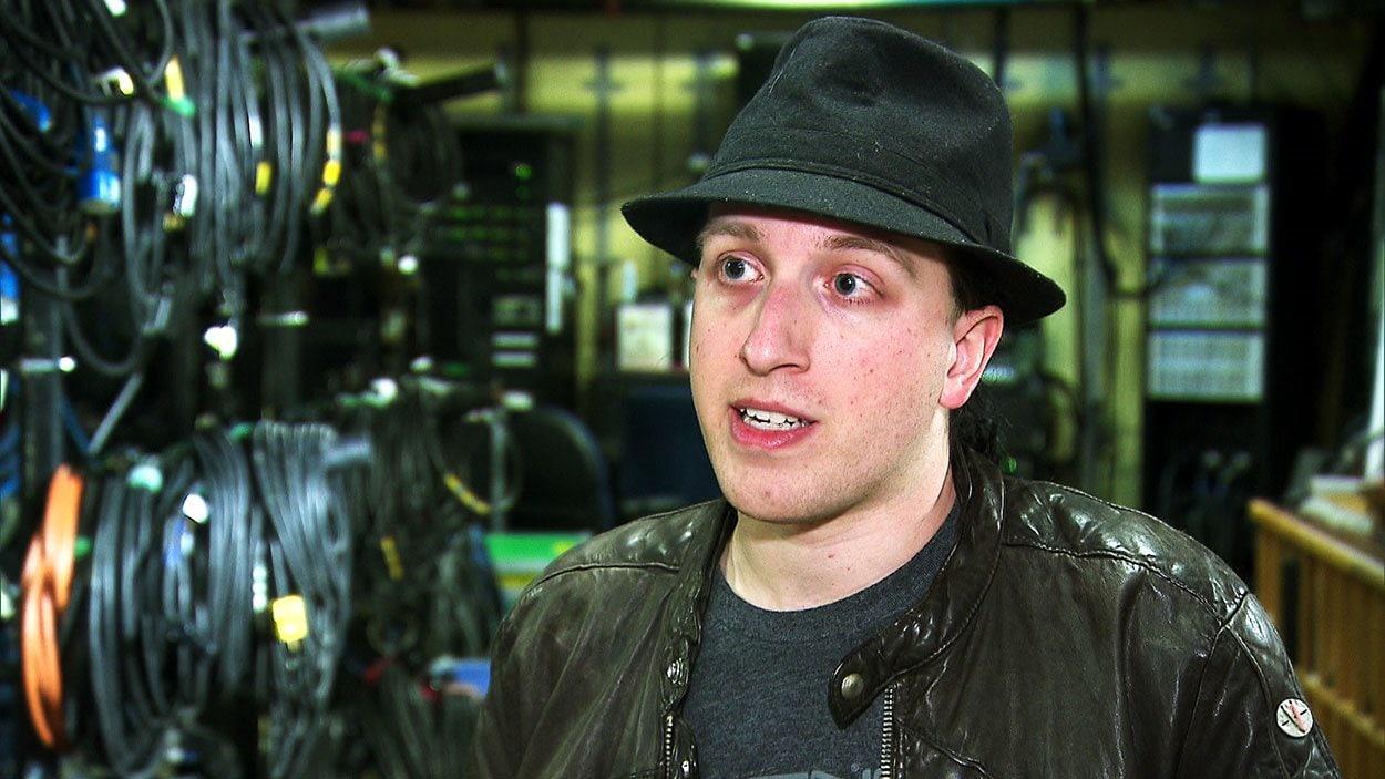 Alex Martel, presidente fundador de Amnesia Rockfest de Montebello'Amnesia Rockfest de Montebello