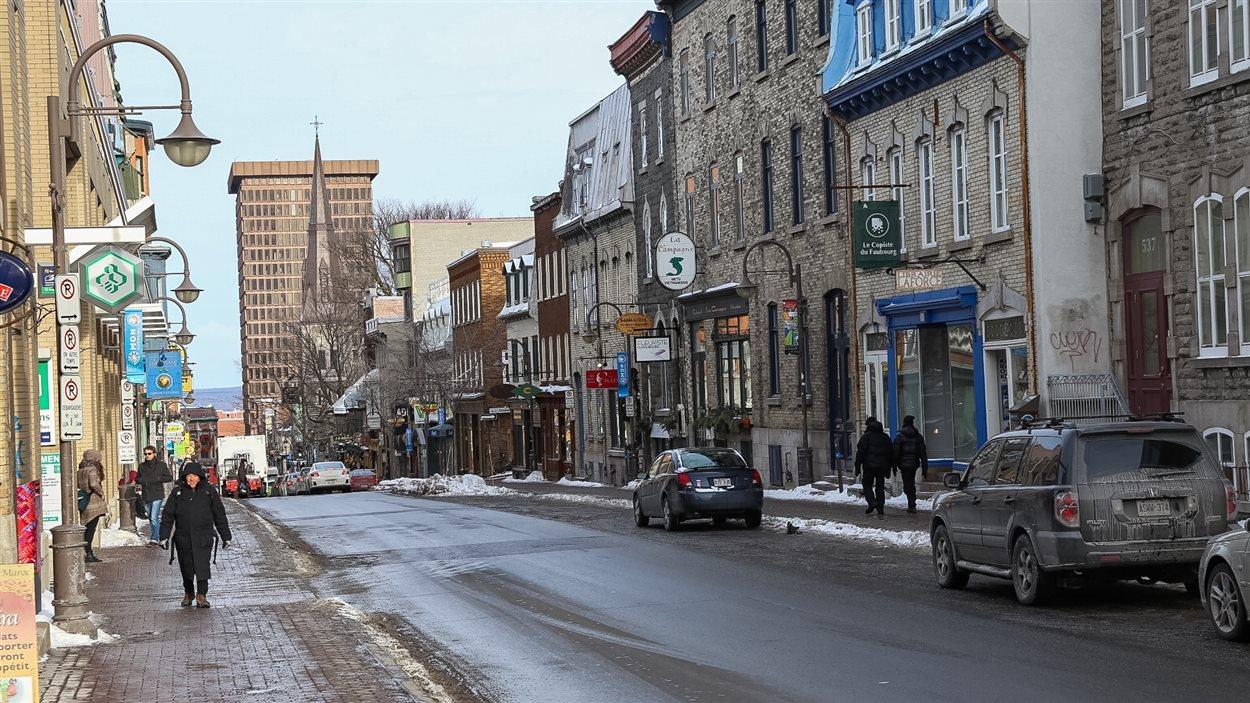 La rue Saint-Jean, quartier Saint-Jean-Baptiste