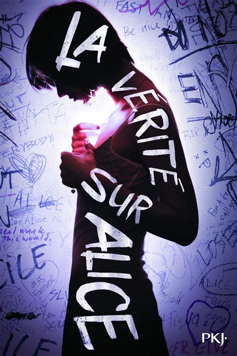 Détail de la couverture de «La vérité sur Alice» de Jennifer Mathieu