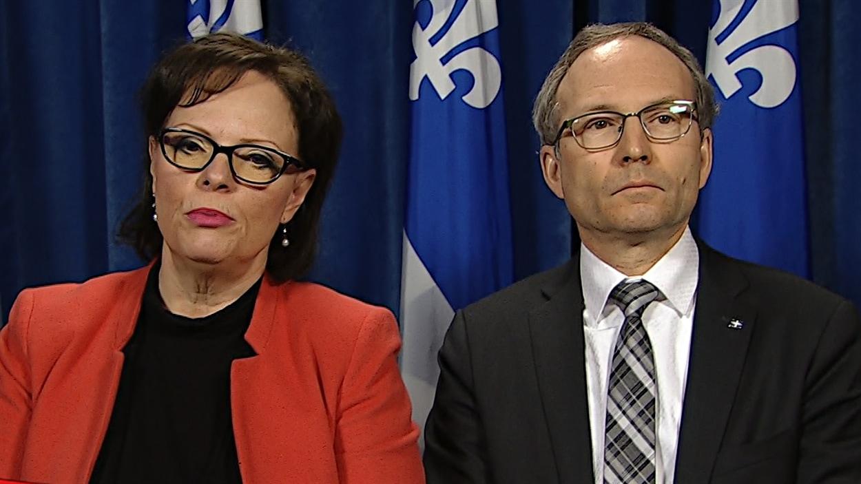 Les ministres Charlebois et Coiteux nomment un vérificateur au Centre jeunesse de Laval.