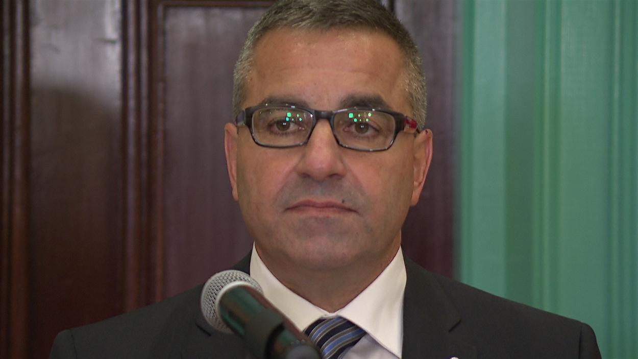 Steve Kanellakos, directeur général de la Ville d'Ottawa