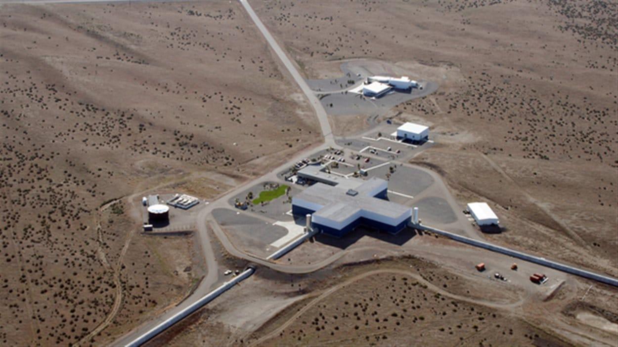 L'un des détecteurs de l'observatoire LIGO