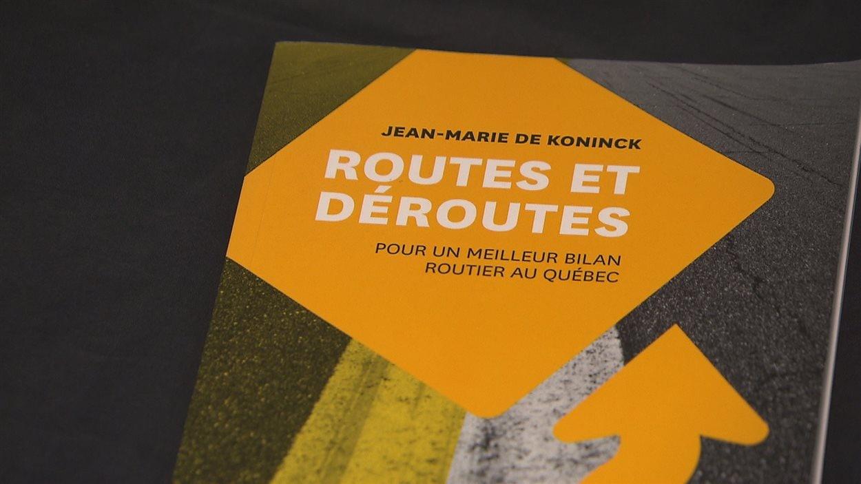 livre routes et déroutes, pour un meilleur bilan routier au Québec