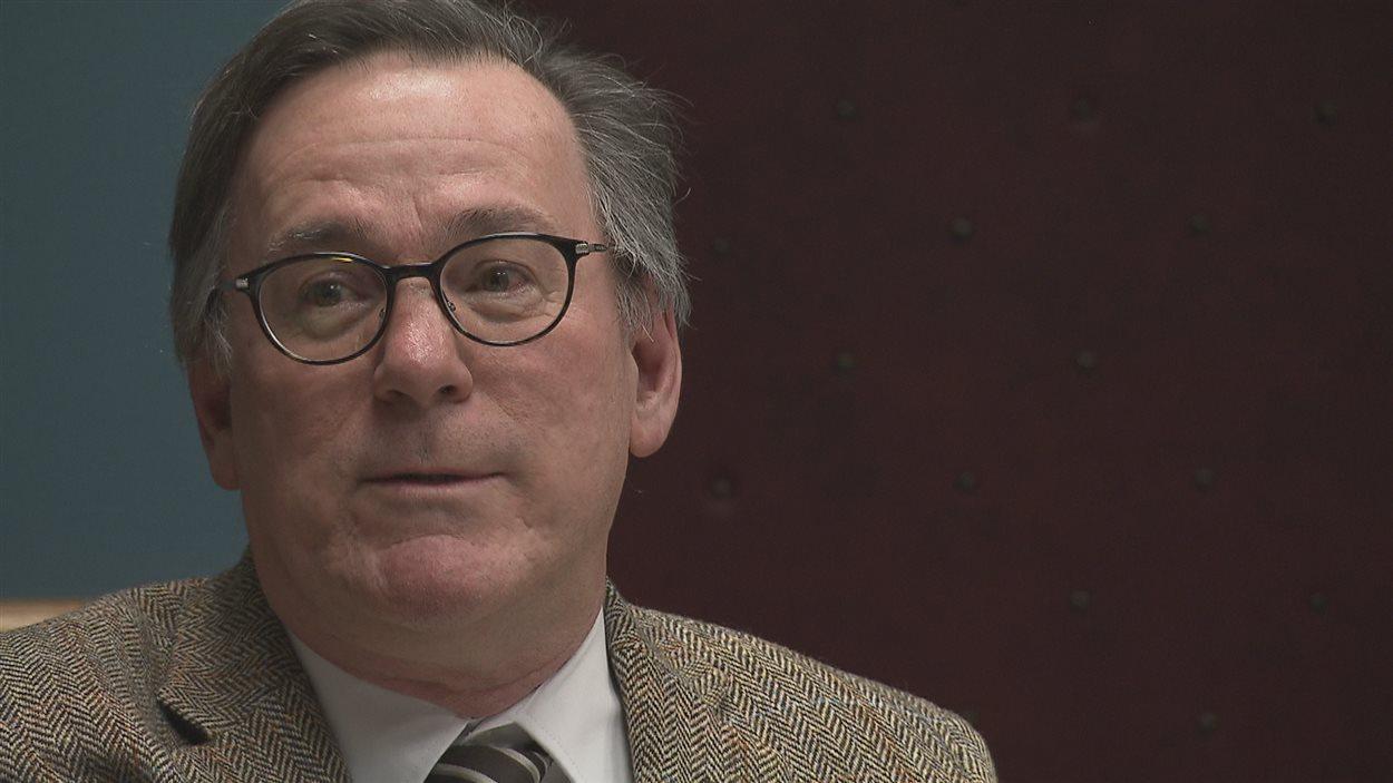Yves Galipeau, DG du cégep de la Gaspésie et des Îles-la-Madeleine