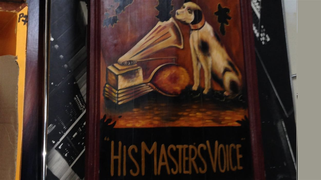 Le chien Nipper de RCA