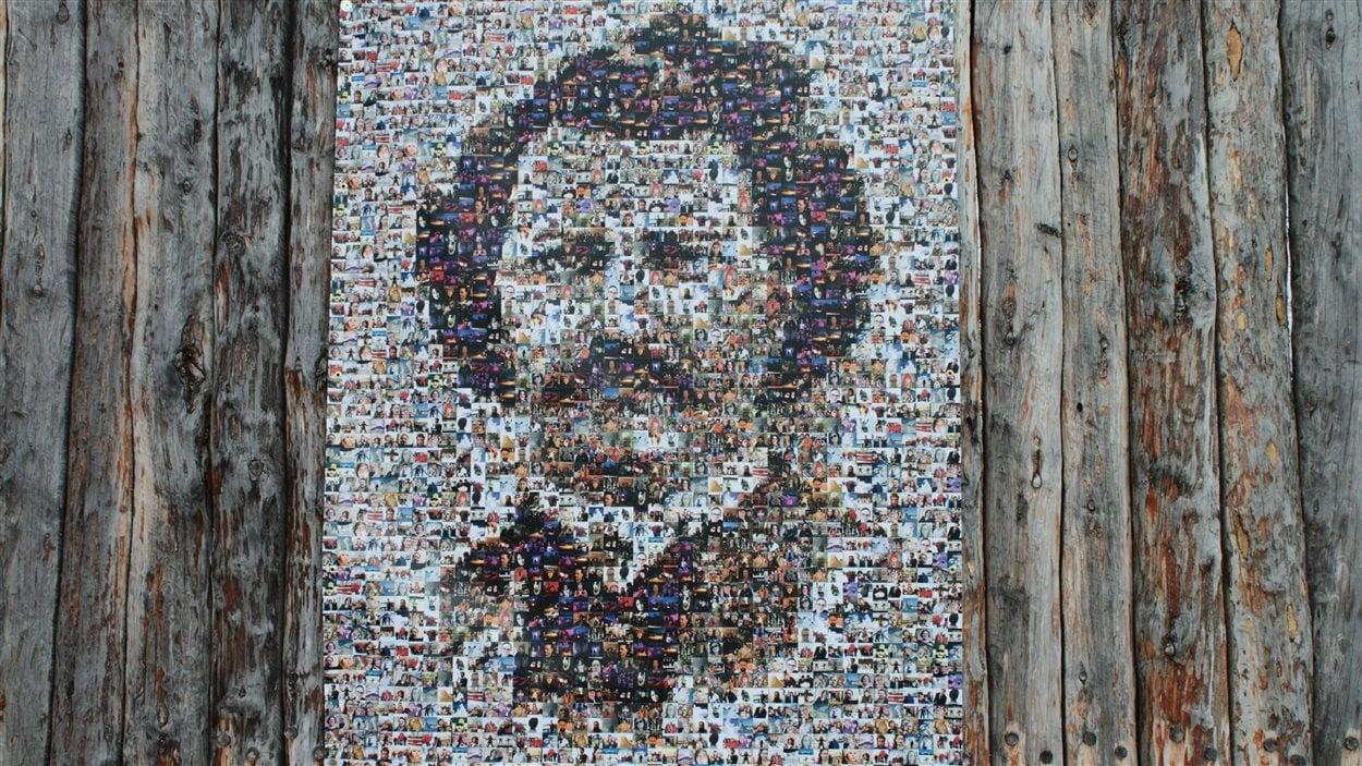 La mosaïque Louis Riel.