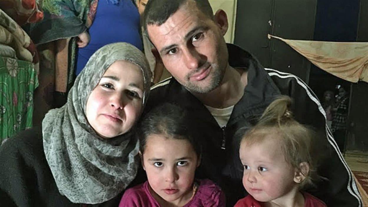 Une famille de réfugiés syriens à Windsor