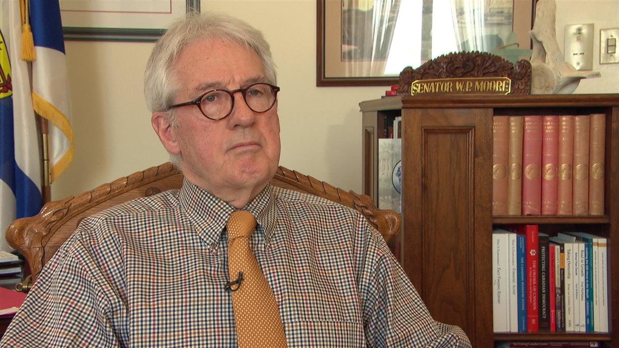 Le sénateur libéral Wilfred Moore