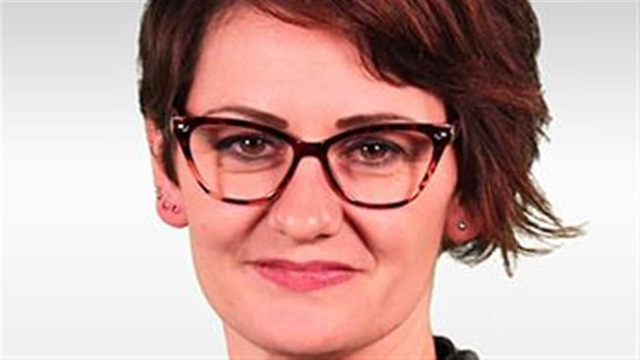 Sheila Reid, correspondante du site Internet The Rebel d'Ezra Levant.