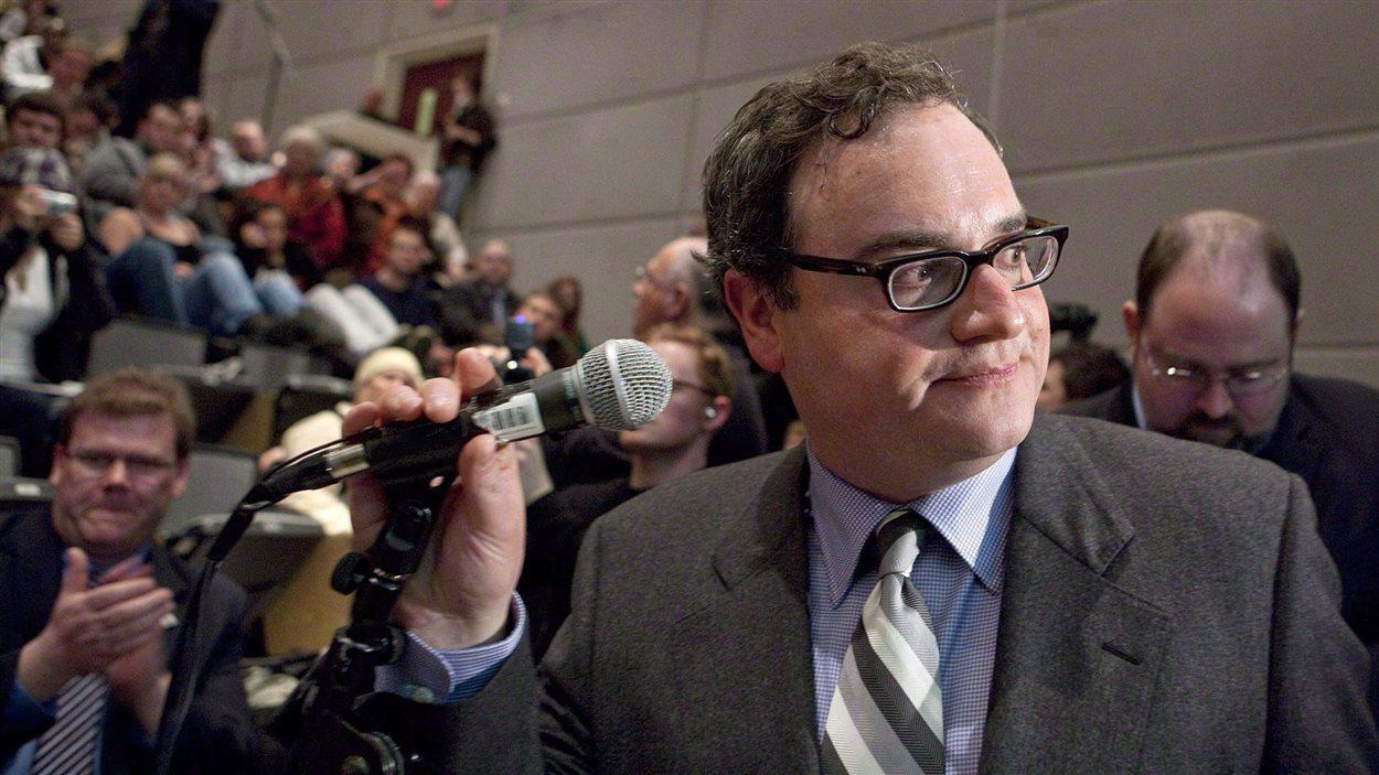 Ezra Levant, ancien commentateur politique Sun News et propriétaire du site conservateur The Rebel.