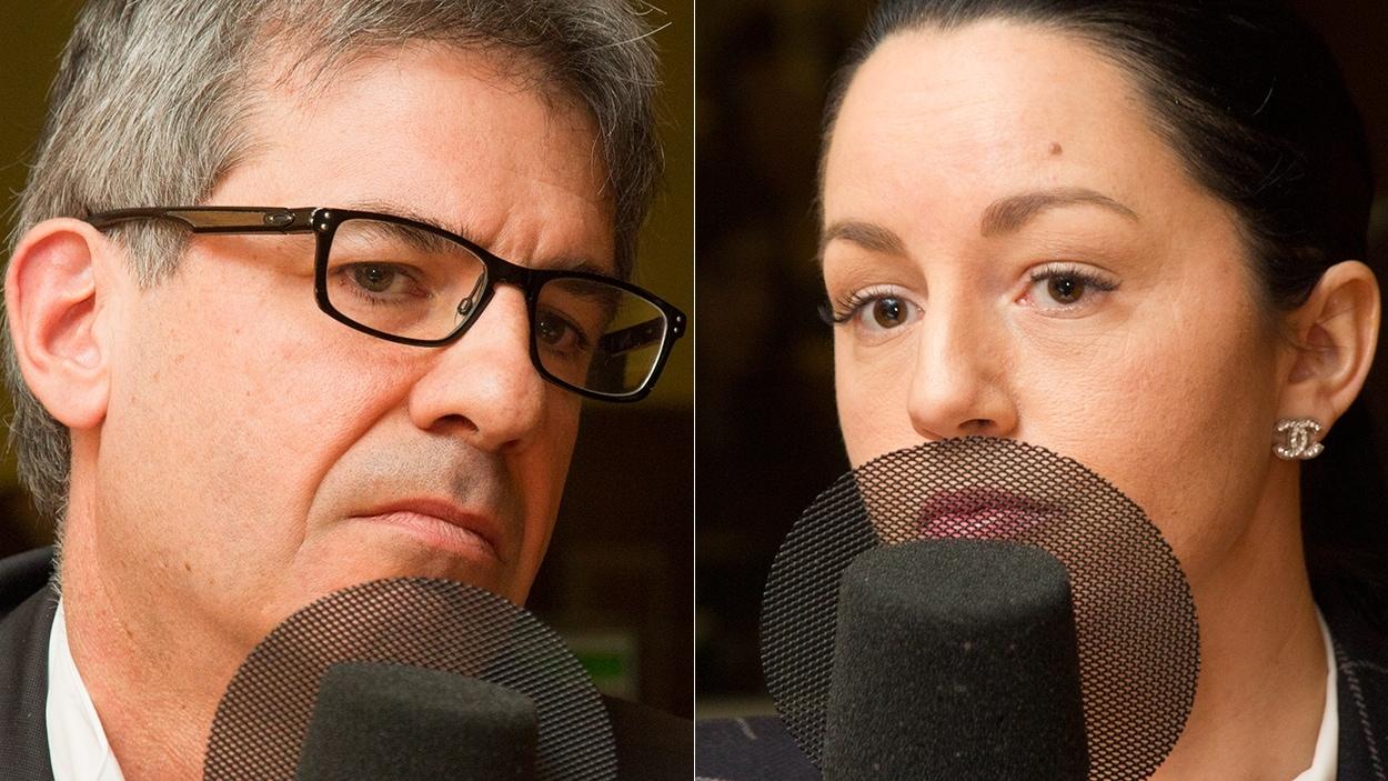 Francis Leborgne et Rachelle Pitre