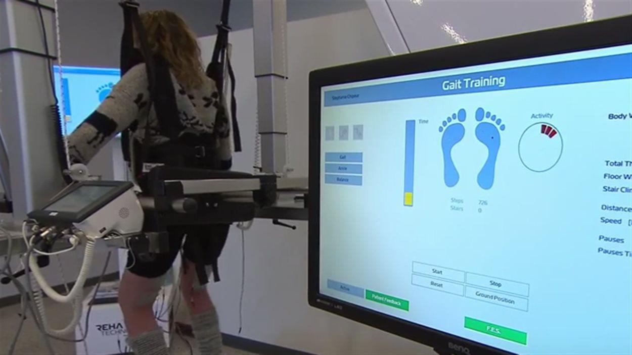 La robot-thérapie chez Neuro-Concept.
