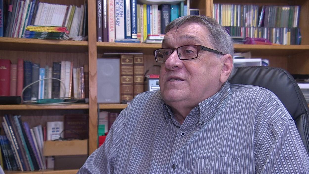 Laurier Gareau, historien amateur fransaskois.