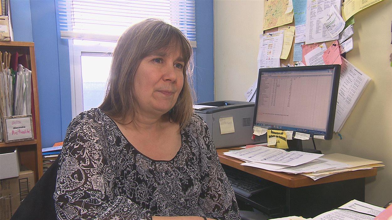 Sylvie Bonin, coordonnatrice à l'ACEF-Estrie