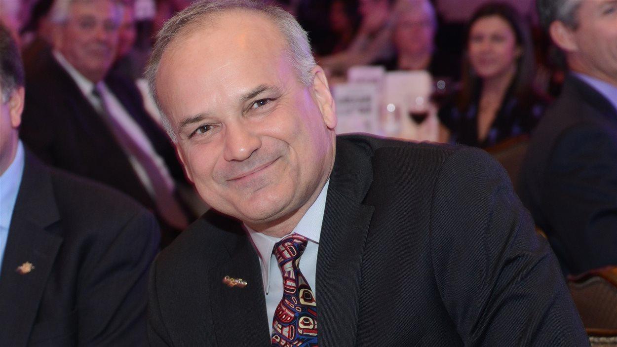 Richard Stewart, le maire de Coquitlam en Colombie-Britannique.