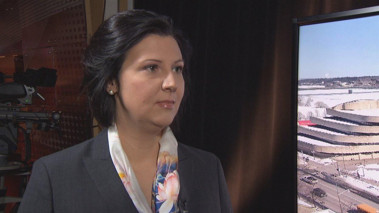 France Bélisle, directrice générale de Tourisme Outaouais.