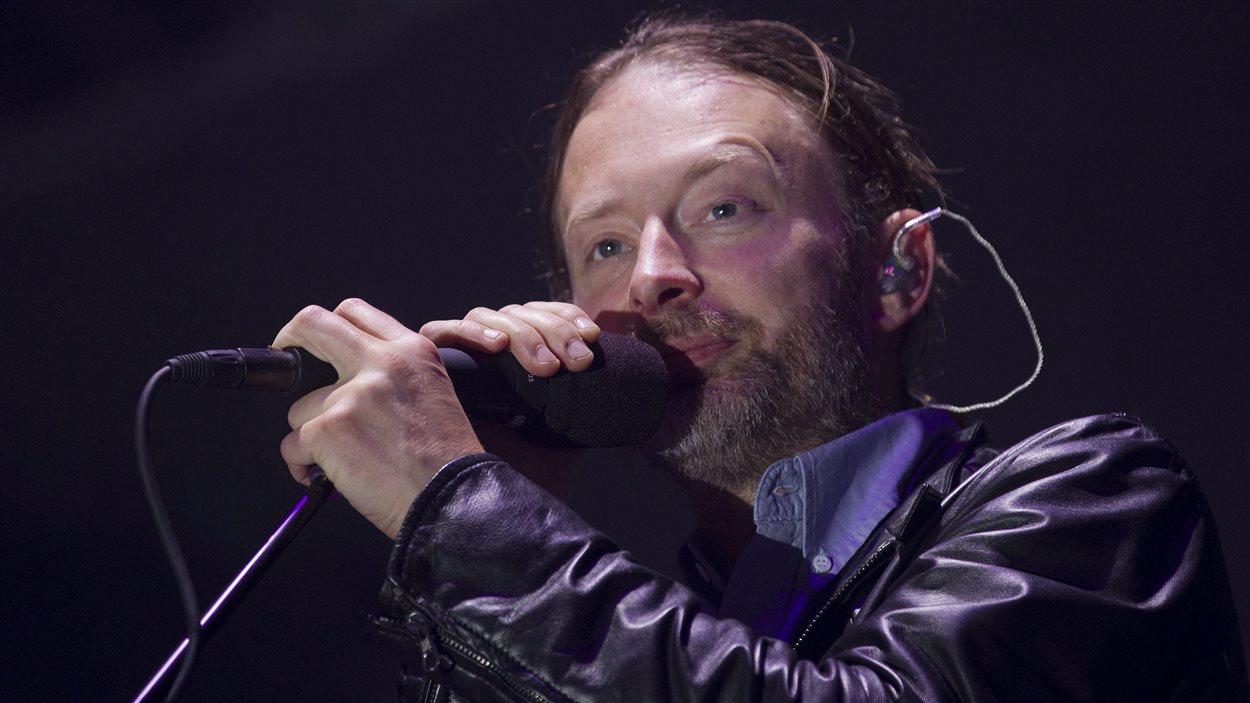 Thom Yorke, chanteur de Radiohead