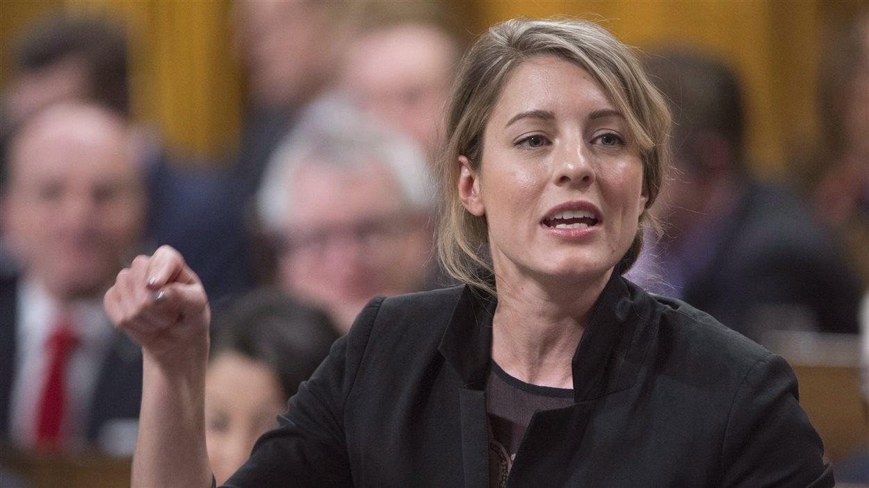 La ministre du Patrimoine, Mélanie Joly.