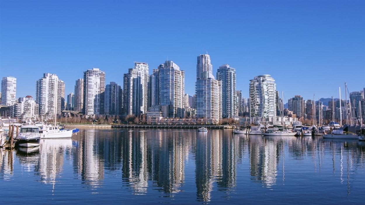 Vue de la ville de Vancouver