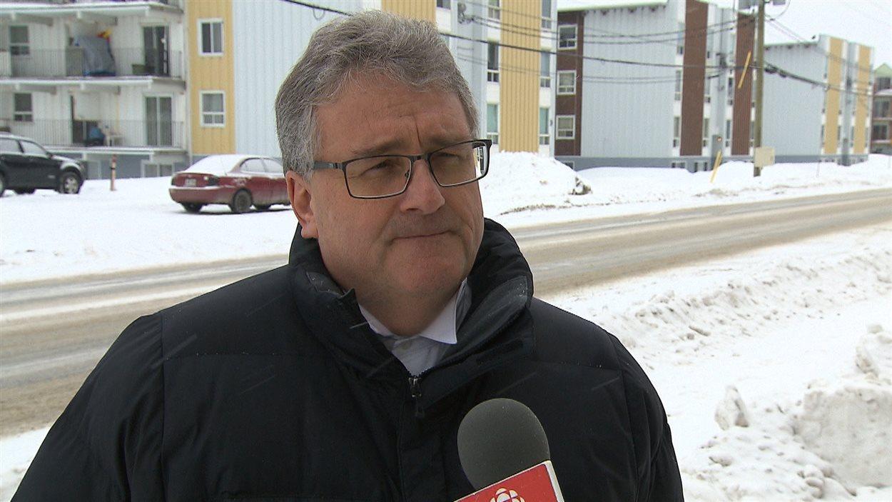 Luc Dion, président de Développement économique Sept-Îles