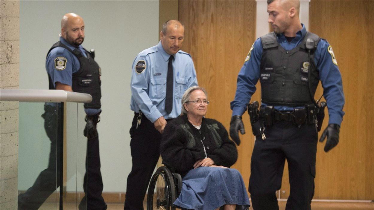 Lise Thibault devra purger une peine de 18 mois de prison.