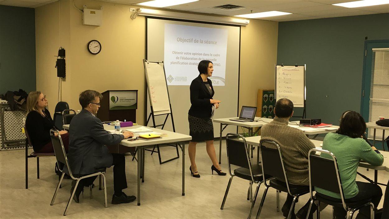 Le Réseau du mieux-être francophone du Nord de l'Ontario tient des consultations publiques sur les services de santé offerts dans la région.