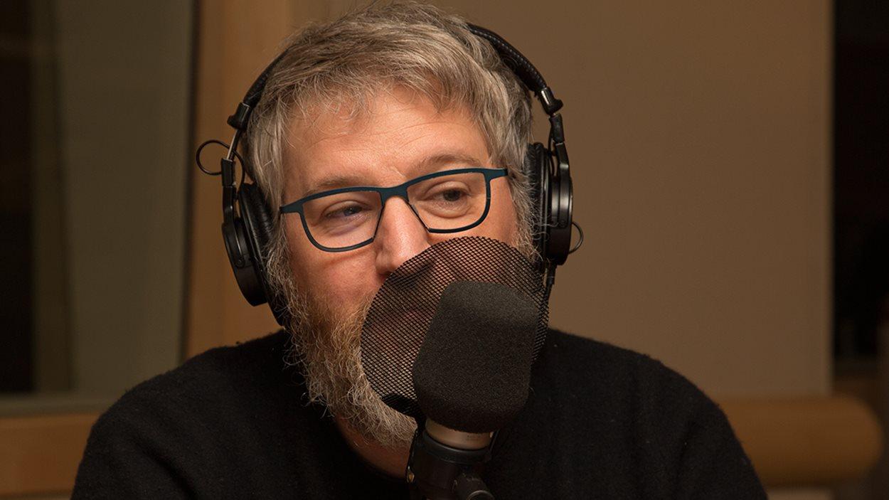 Le comédien Benoît Brière