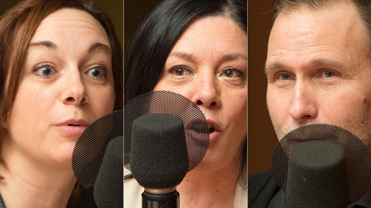 Annie Germain, Céline Legault et Alain Simard