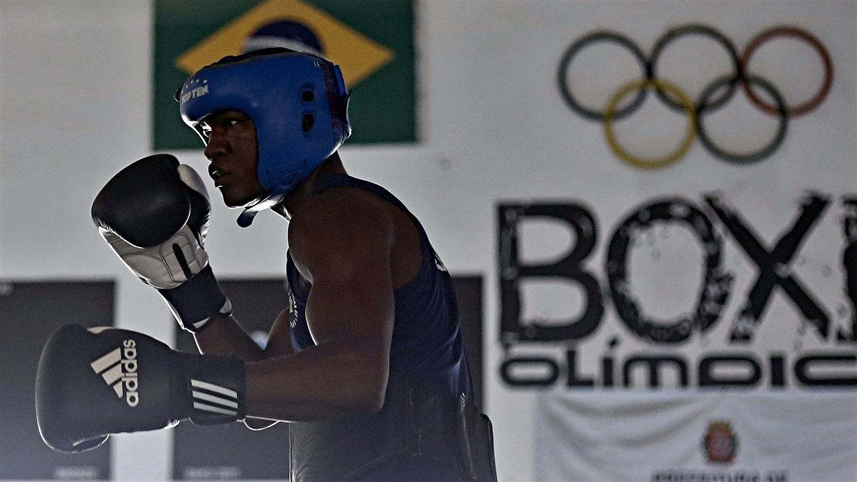 Le boxeur Roberto Custodio