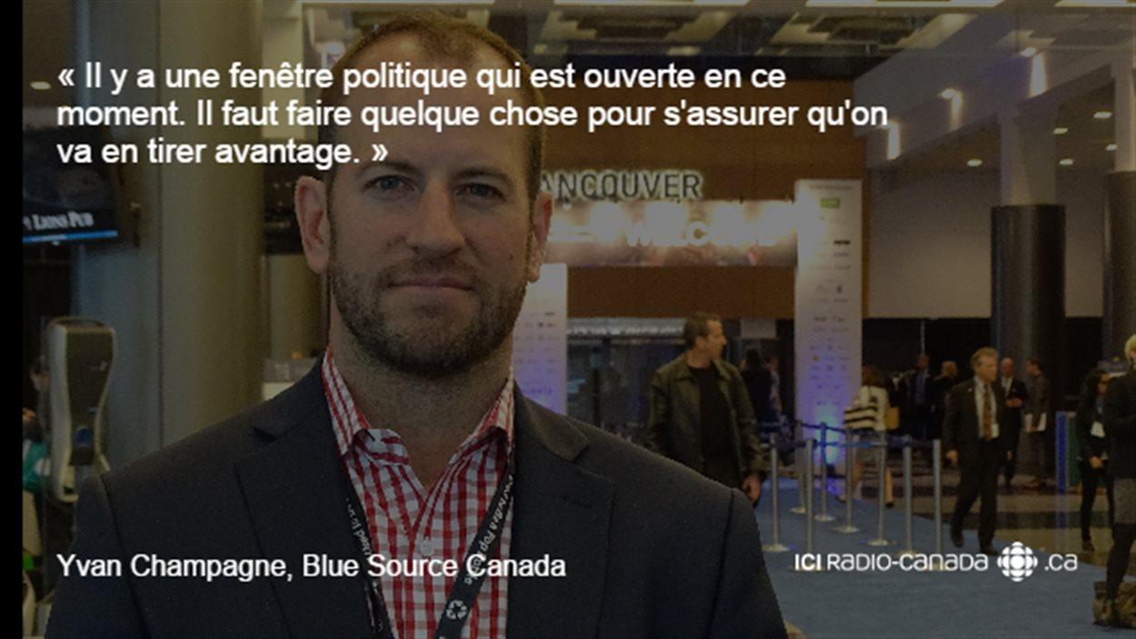 Yvan Champagne, de Blue Source Canada