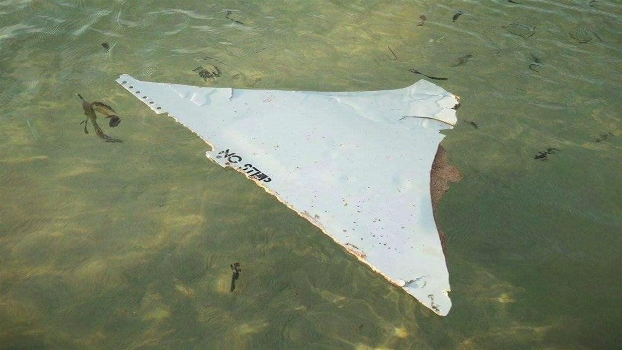 Un débris découvert dans le canal du Mozambique