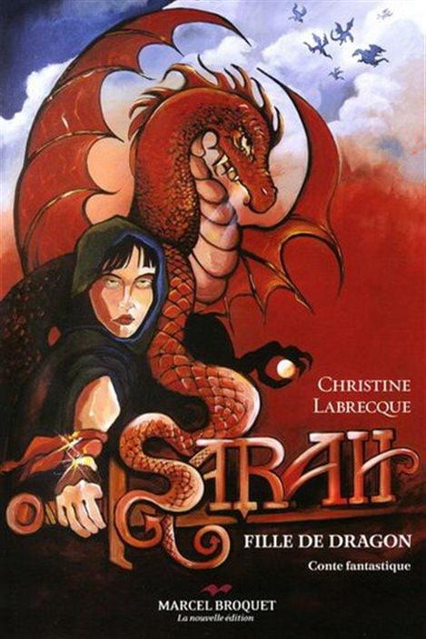 Le livre Sarah, fille de dragon