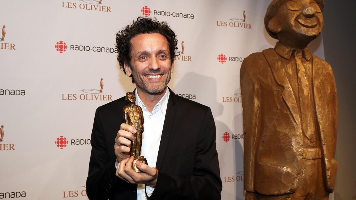 André Sauvé au Gala Les Olivier 2015