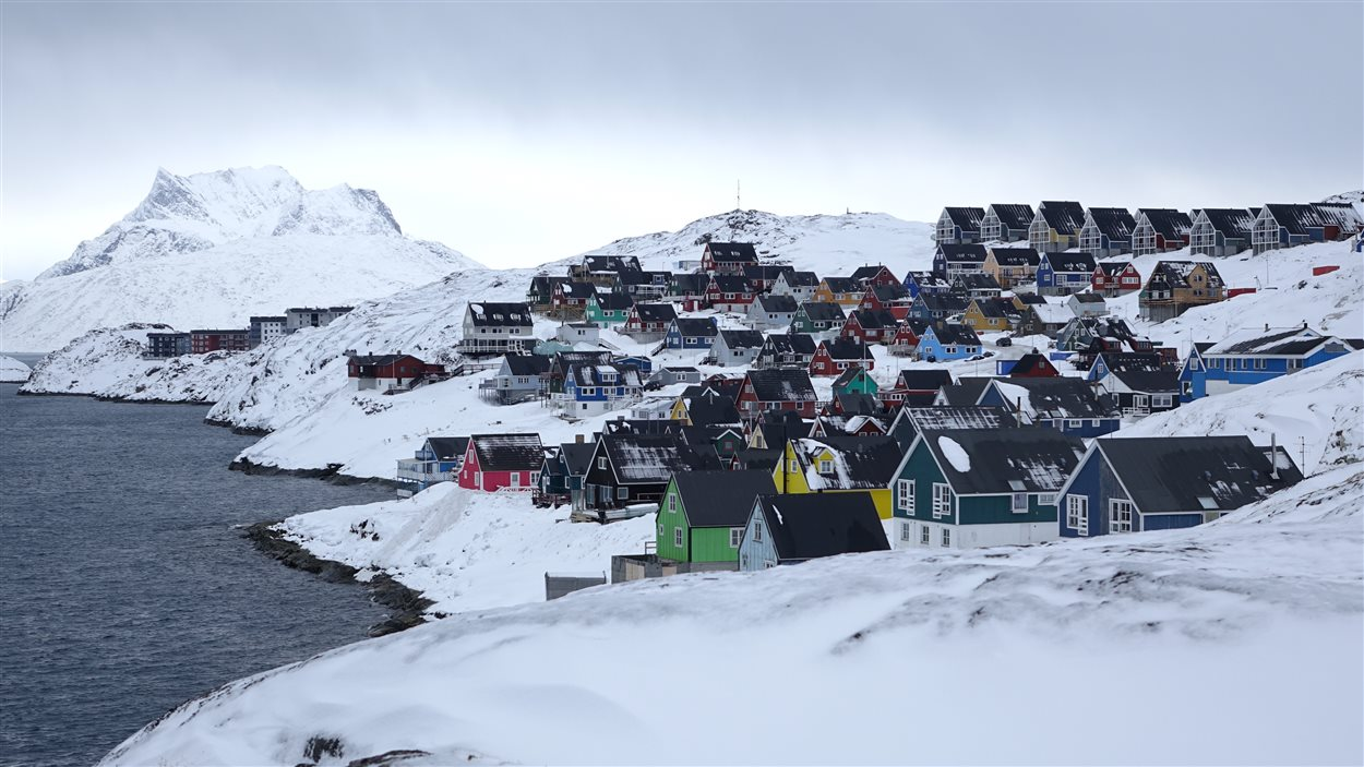 La ville de Nuuk au Groenland grossira de 12 % pendant la tenue des Jeux d'hiver de l'Arctique.