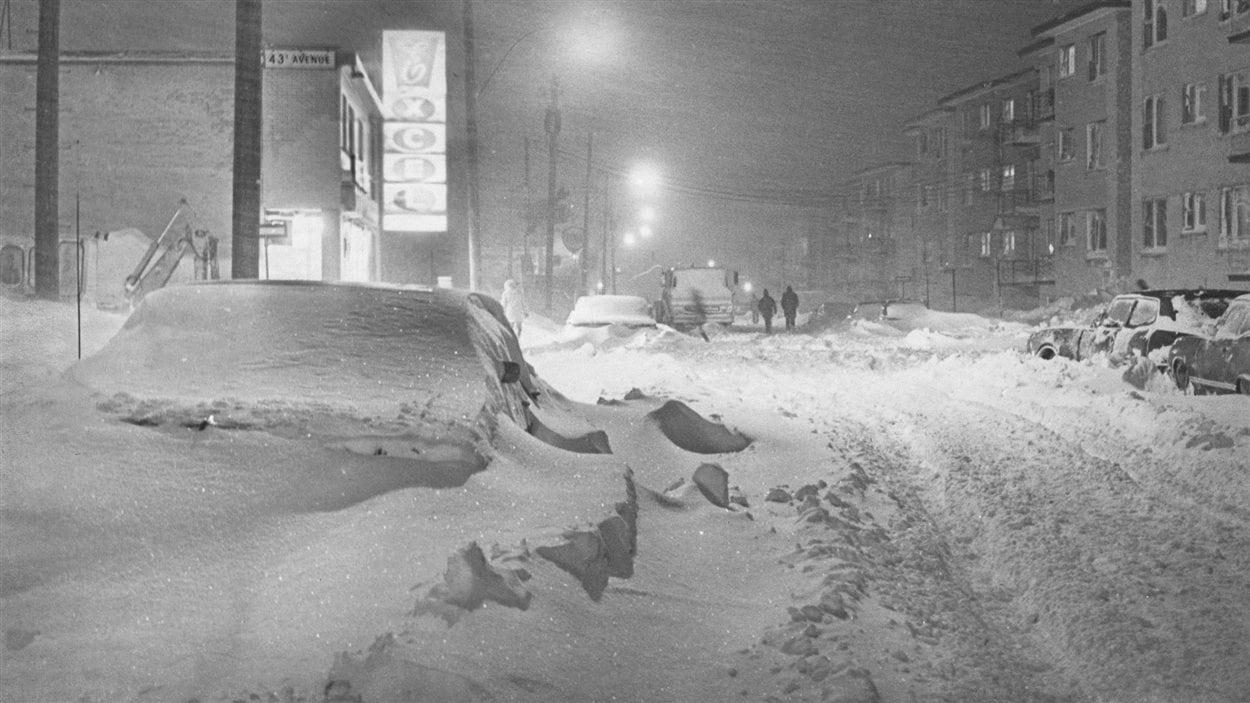 La « tempête du siècle », le 4 mars 1971 à Montréal