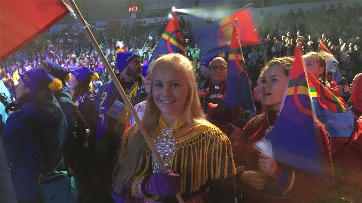 la délégation Saami