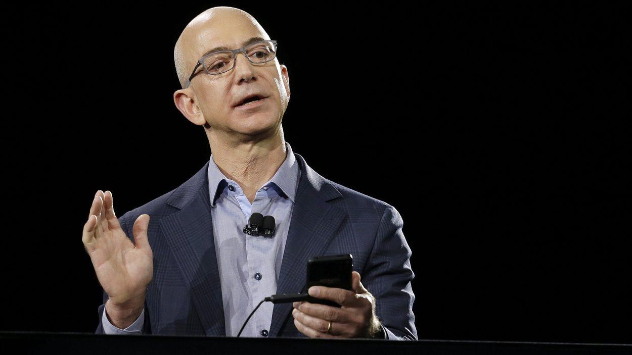 Le président d'Amazon, Jeff Bezos