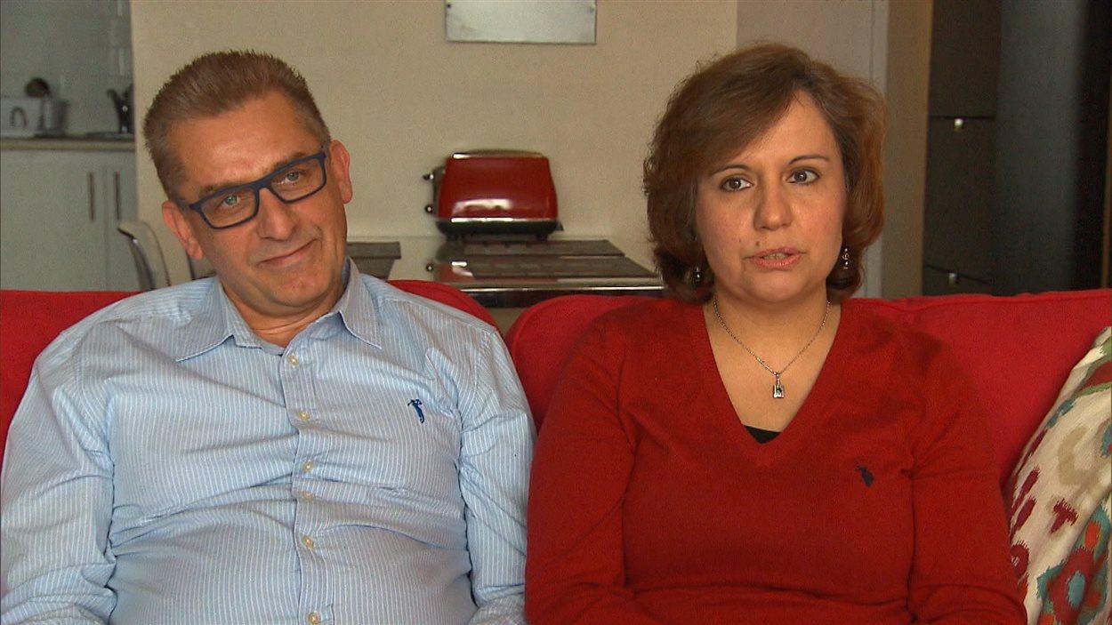 Ghatfan Shaaban et Manar Alfarra