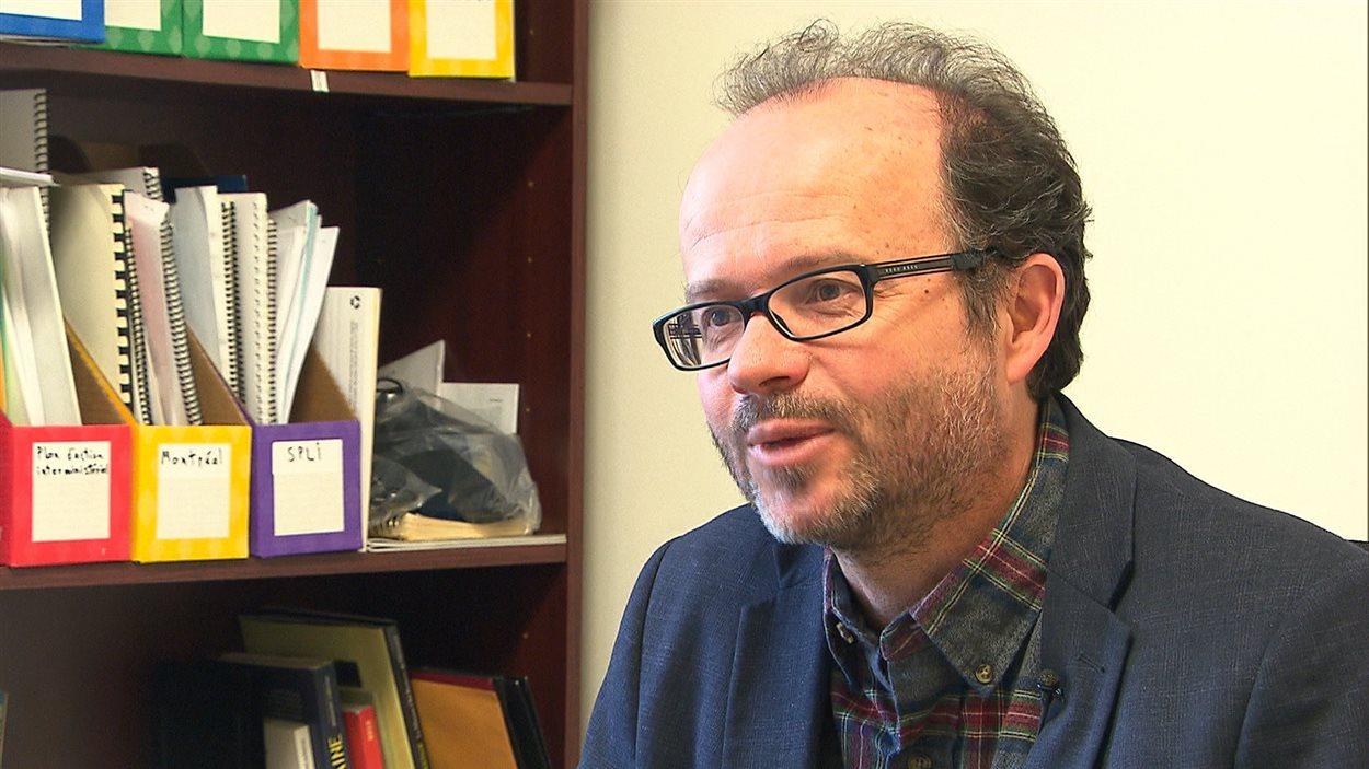Pierre Gaudreau, coordonnateur du RAPSIM