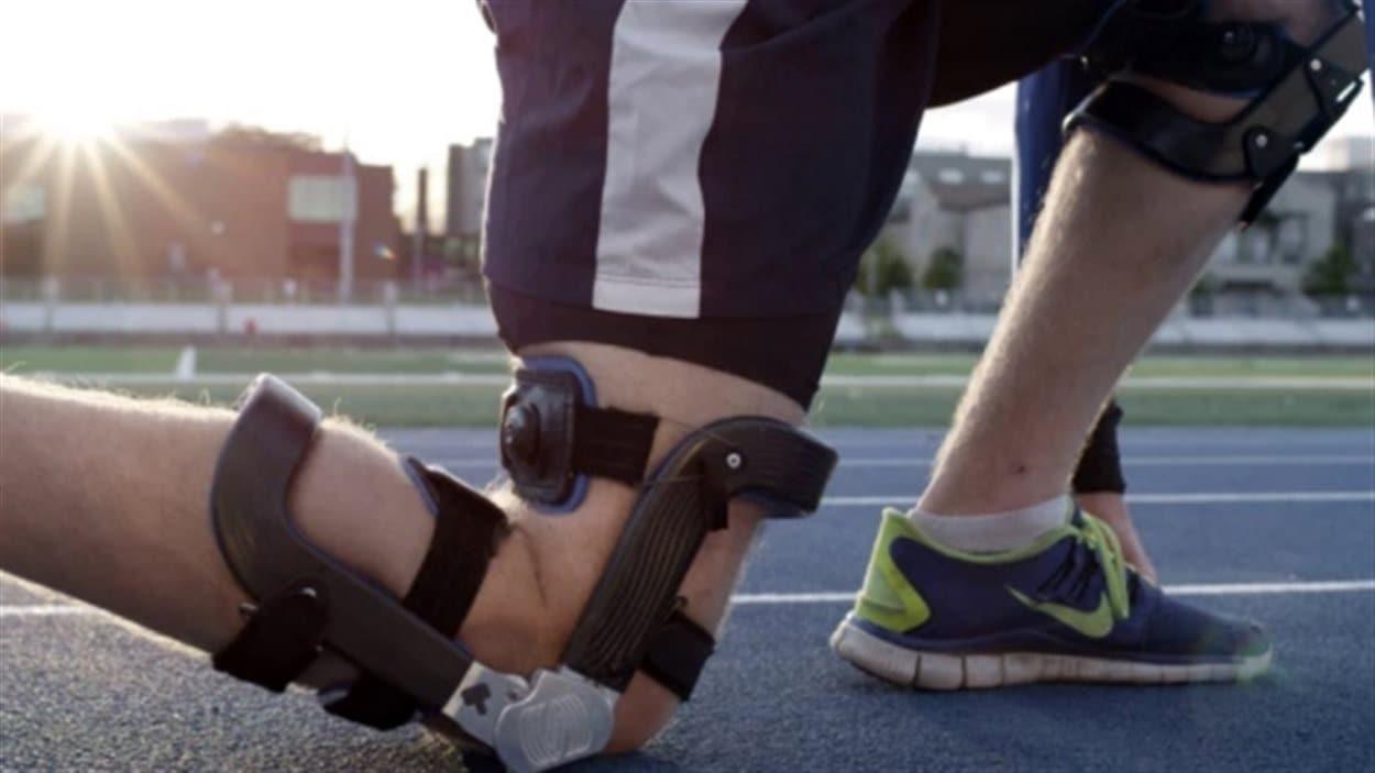Le genou bionique de Spring Loaded Technology