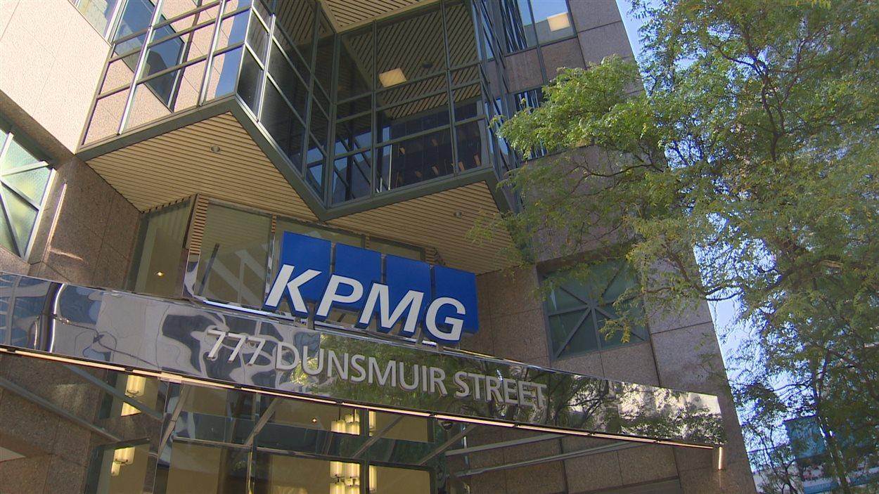 Les bureaux de KPMG à Vancouver